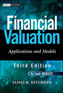 Cover of Financial Valuation: Applications and Models, + Website, 3rd Edition