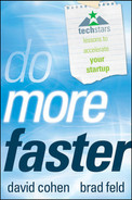 Cover of Do More Faster: TechStars Lessons to Accelerate Your Startup