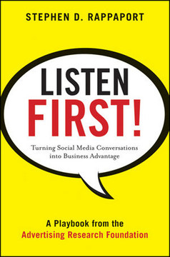 Listen First!: Turning Social Media Conversations into Business Advantage