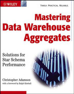 Cover of Mastering Data Warehouse Aggregates: Solutions for Star Schema Performance