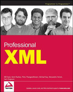 Cover of Professional XML