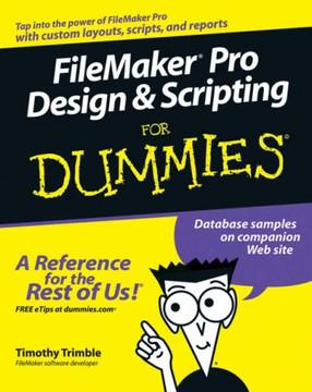 FileMaker® Pro Design & Scripting For Dummies®