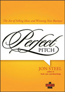 Cover of Perfect Pitch: The Art of Selling Ideas and Winning New Business