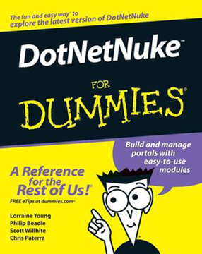 Dotnetnuke™ For Dummies®