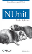 Cover of NUnit Pocket Reference