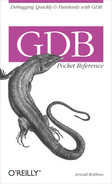 Cover of GDB Pocket Reference