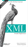 Cover image for XML Pocket Reference, 3rd Edition