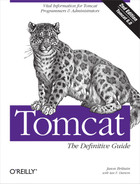 Cover of Tomcat: The Definitive Guide, 2nd Edition