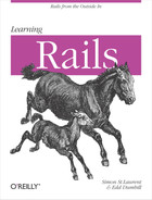 Cover image for Learning Rails