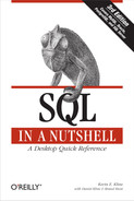 Cover image for SQL in a Nutshell, 3rd Edition