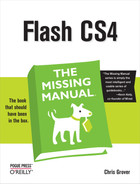 Cover image for Flash CS4: The Missing Manual, Flash CS4 Edition