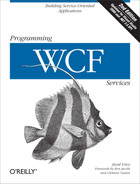Cover image for Programming WCF Services, 2nd Edition