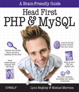 Cover image for Head First PHP & MySQL