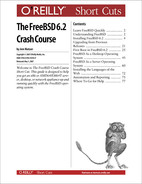 Cover image for The FreeBSD 6.2 Crash Course