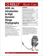 Cover image for HDR: An Introduction to High Dynamic Range Photography