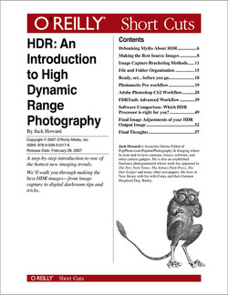 HDR: An Introduction to High Dynamic Range Photography
