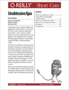 Cover image for Unobtrusive Ajax