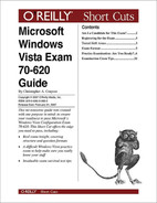 Cover image for Microsoft Windows Vista Exam 70-620 Guide