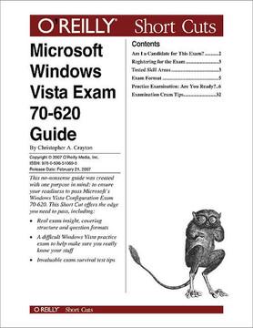 Microsoft Windows Vista Exam 70-620 Guide