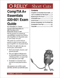 CompTIA A+Essentials 220-601 Exam Guide