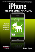 Cover image for iPhone: The Missing Manual