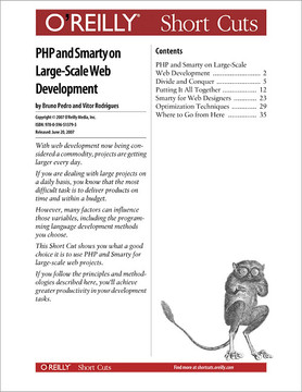 PHP and Smarty on Large-Scale Web Development