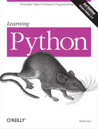 Cover image for Learning Python, 3rd Edition