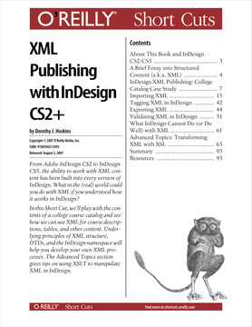 XML Publishing with InDesign CS2+