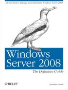 Cover image for Windows Server 2008: The Definitive Guide