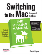 Cover image for Switching to the Mac: The Missing Manual, Leopard Edition