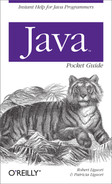 Cover image for Java Pocket Guide