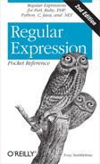Cover image for Regular Expression Pocket Reference, 2nd Edition