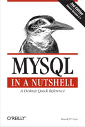 Cover image for MySQL in a Nutshell, 2nd Edition