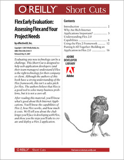 Flex Early Evaluation: Assessing Flex and Your Project Needs