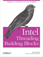 Cover of Intel Threading Building Blocks