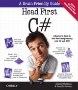 Cover image for Head First C#