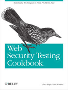 Cover image for Web Security Testing Cookbook