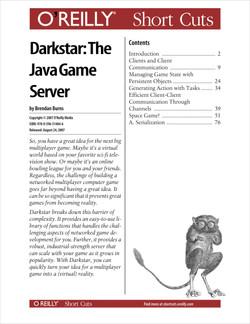 Darkstar: The Java Game Server