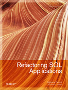 Cover image for Refactoring SQL Applications
