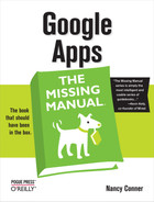 Cover image for Google Apps: The Missing Manual