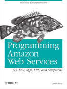 Cover of Programming Amazon Web Services