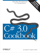 Cover image for C# 3.0 Cookbook, 3rd Edition