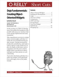 Dojo Fundamentals: Creating Object-Oriented Widgets