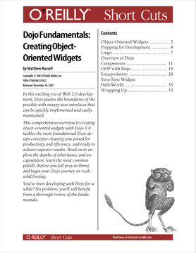 Dojo Fundamentals: Creating Object-Oriented Widgets