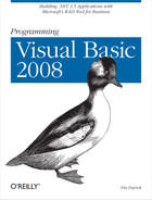 Cover image for Programming Visual Basic 2008