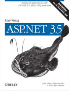 Cover image for Learning ASP.NET 3.5, 2nd Edition