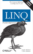 Cover of LINQ Pocket Reference