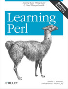 Cover image for Learning Perl, 5th Edition