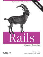 Cover image for Rails: Up and Running, 2nd Edition