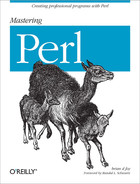 Cover of Mastering Perl